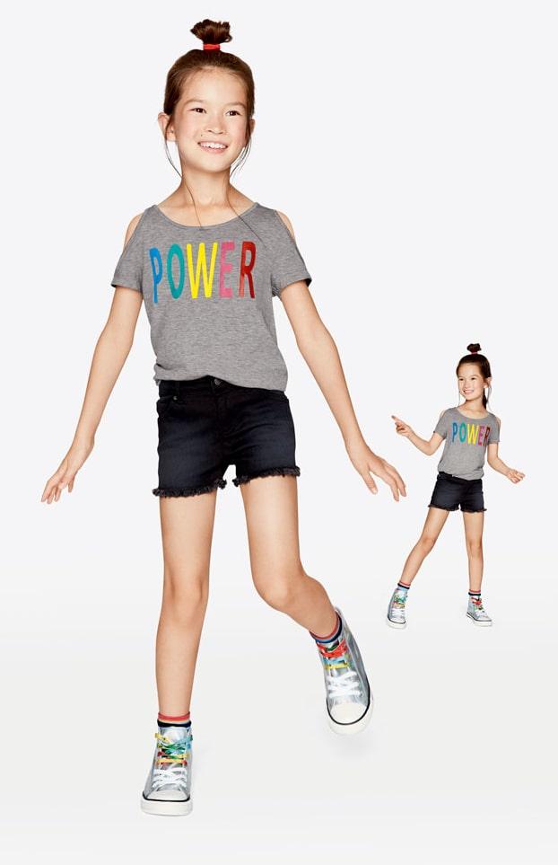 Heidis första barnkollektion – coola, färgglada och bekväma kläder.