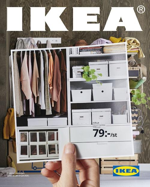 Här är Ikea-katalogen våren 2020. Fokus är förvaring.