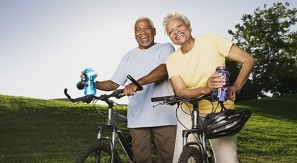 Cykling är kul - men inte lika bra träning som att gå.