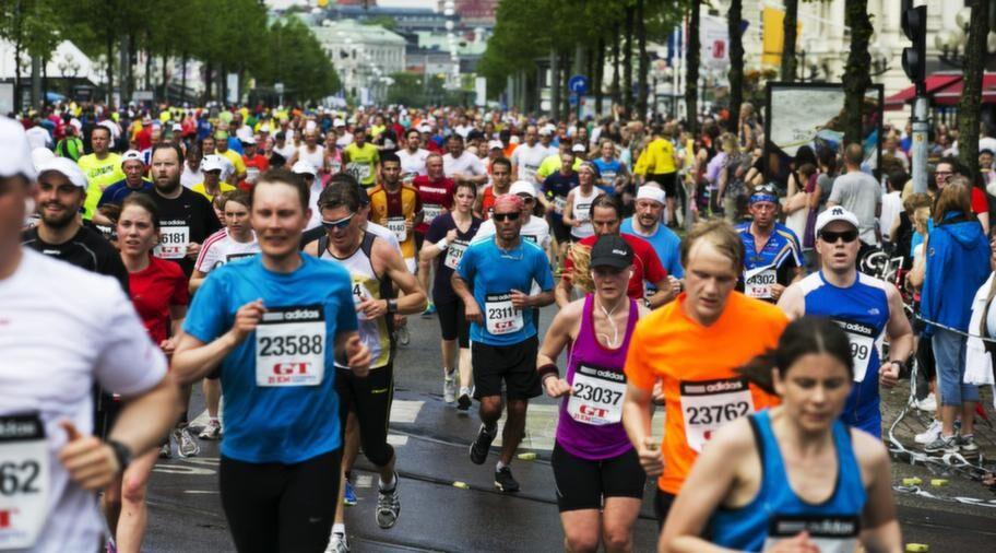 Många tappra löpare sprang årets Göteborgsvarv. Du kan också!