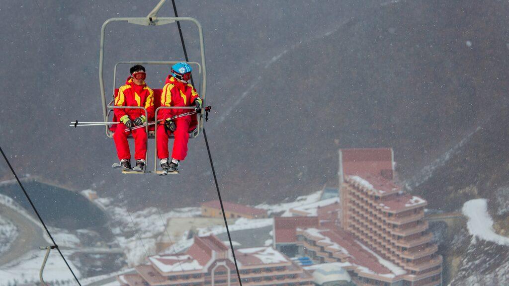 Skidorten är ett gigantiskt propagandaprojekt som invigdes 2014.