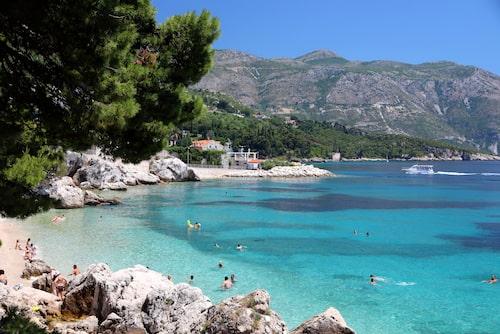 Pittoreska Mlini längs Dubrovniks riviera, för dig som vill fly turistinvasionen.