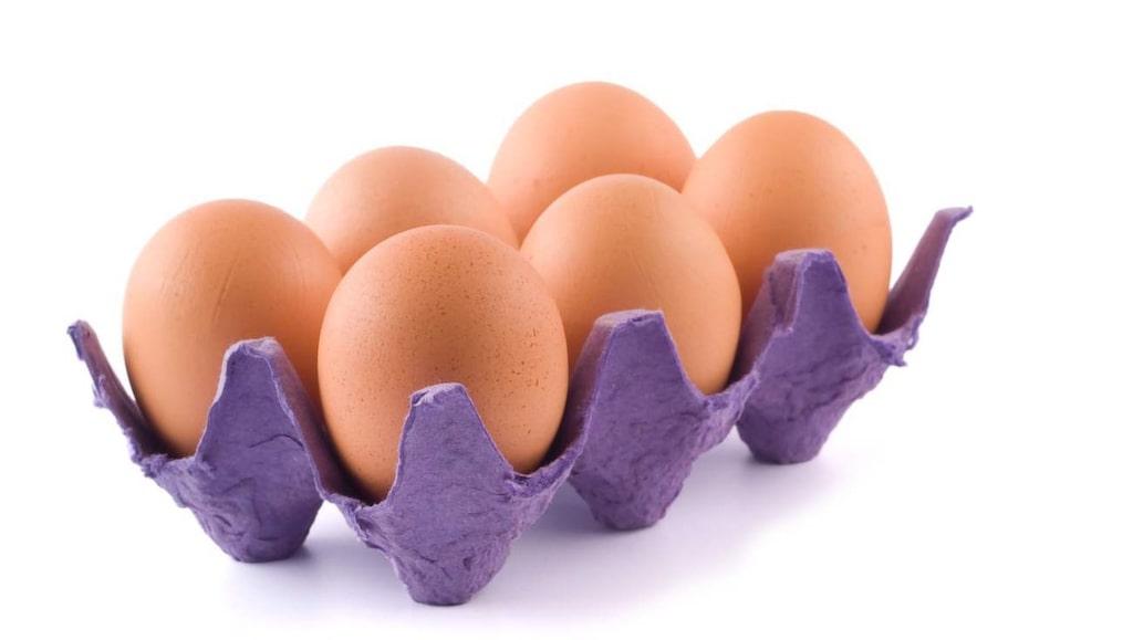 Koka ett ägg och ta med. Gott, nyttigt och mättande.
