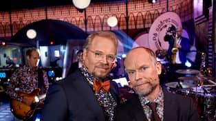 1033b27c0d5a Fredrik Lindström och Kristian Luuk bekräftas bli kvar. Foto: SVT. SVT vill  få ...