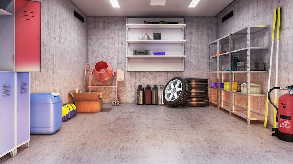 Vad har du för förvaringsbehov i ditt nya garage? Planera från start om du ska bygga nytt garage.