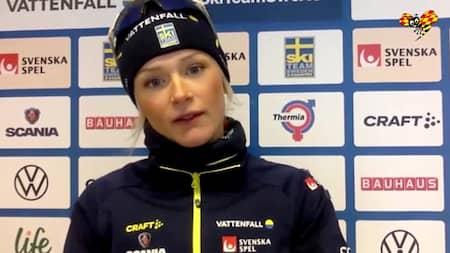 Efter Succeloppet Moa Olsson Tackar Gunde Svan