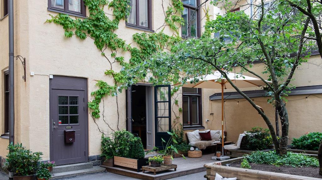 Gårdshuset, byggt 1898, ligger på en innergård på Kungsholmen i Stockholm.