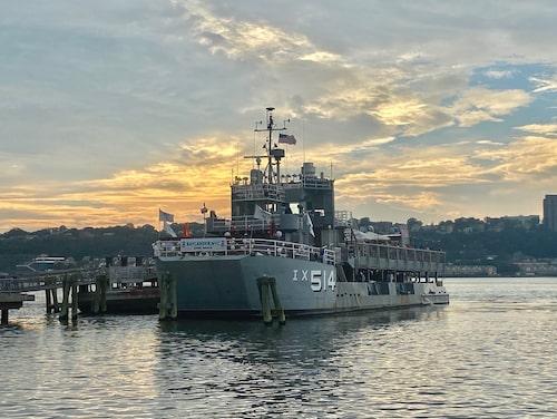 Det gamla krigsfartyget tjänstgör numera med betydligt fredligare syften.