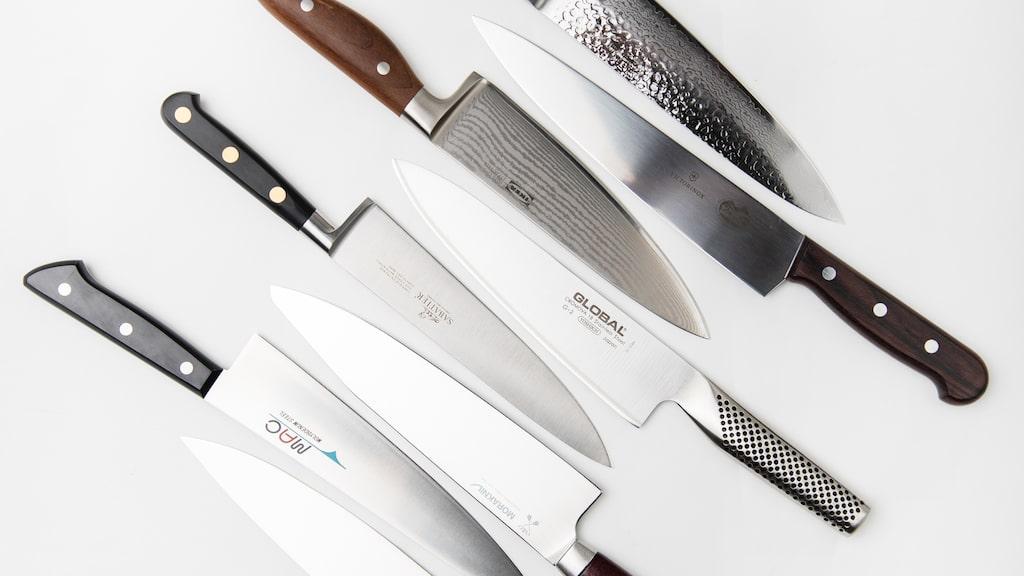 Testfakta har testat åtta olika kockknivar, vilket blev en jämn kamp – men en vinnare utsågs.