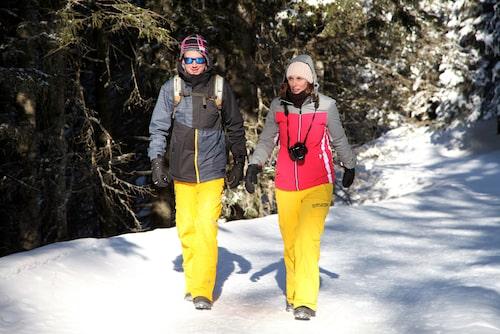 Vintervandring är utbrett i Stubai.