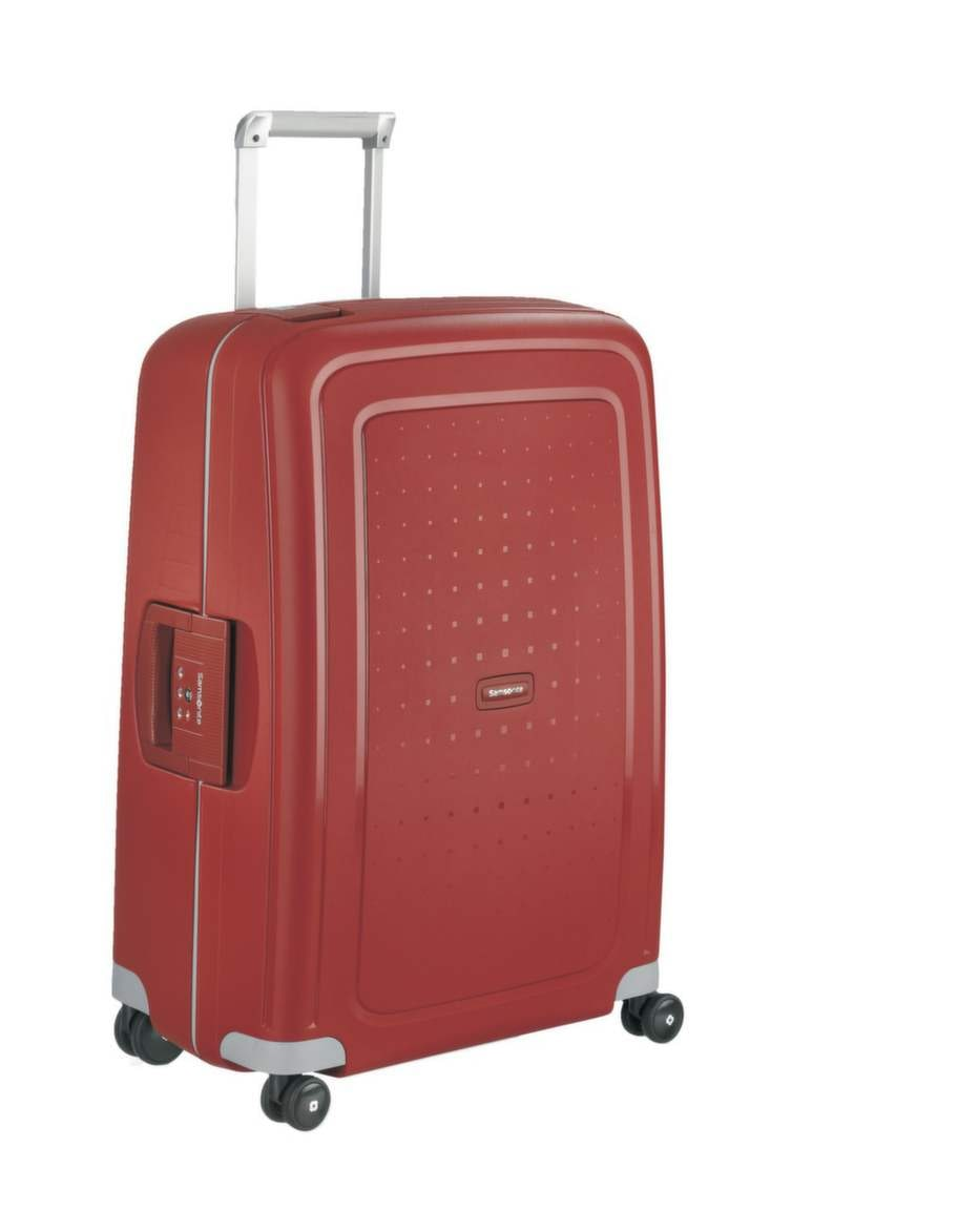 """<strong>Samsonite S'cure Spinner 55</strong>, cirkapris 1 600 kronor.<br><exp:icon type=""""wasp""""></exp:icon><exp:icon type=""""wasp""""></exp:icon><exp:icon type=""""wasp""""></exp:icon>"""