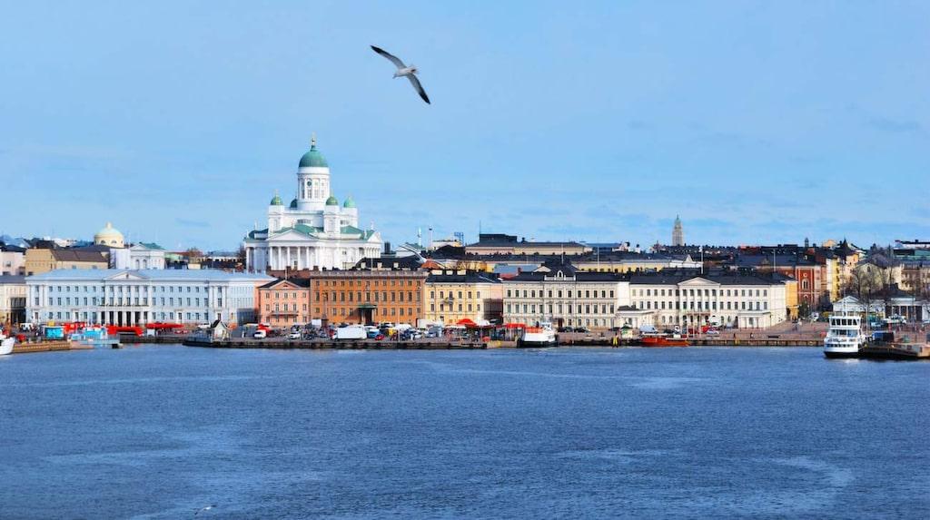 """""""Trots att Helsingfors är en huvudstad är den ganska avslappnad och utan stress"""", säger Krista."""