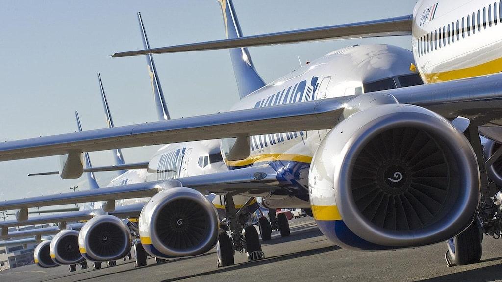 Sammanlagt ställs mellan 1 700 och 2 100 flygningar in under perioden.