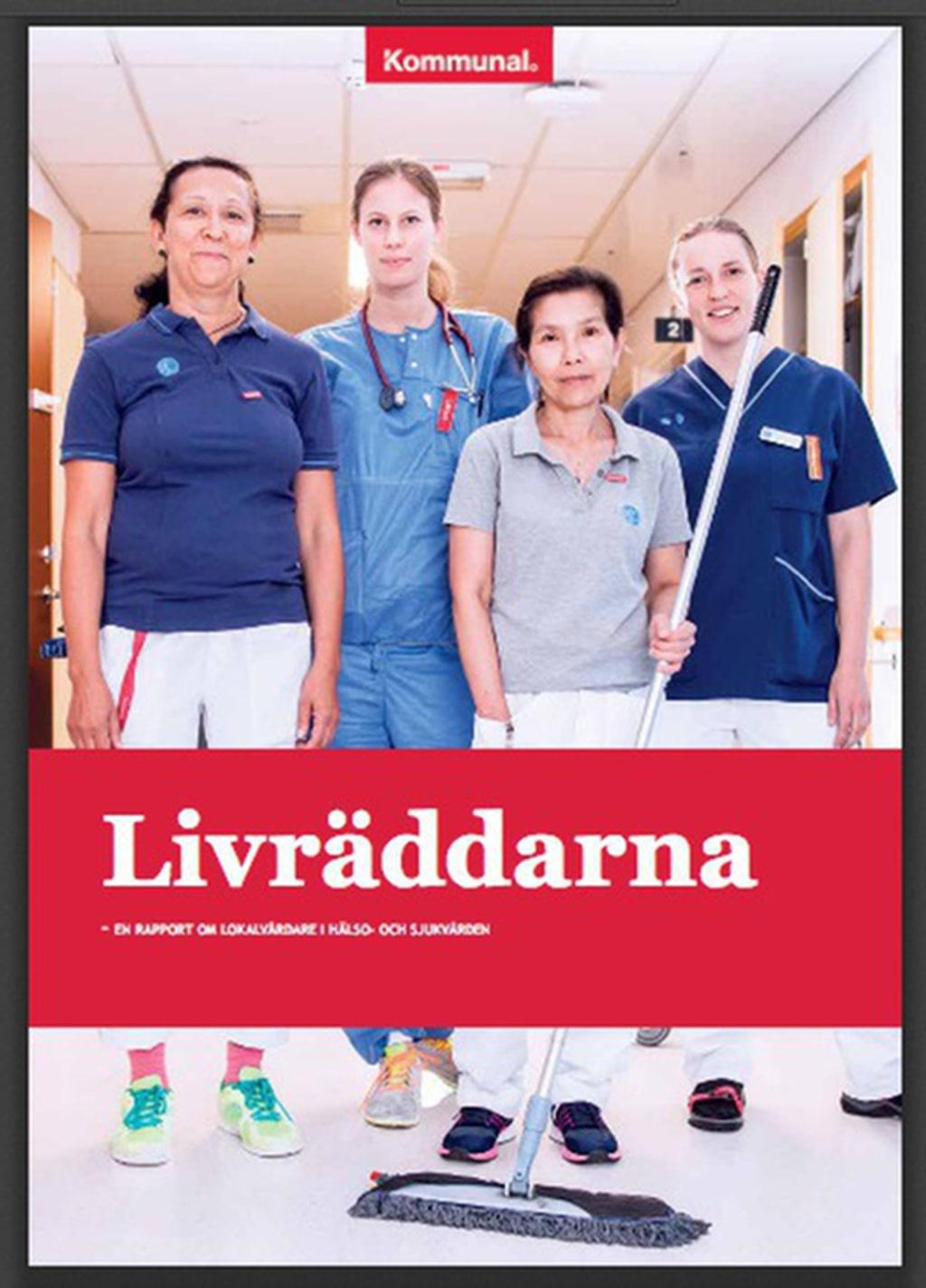 Rapport. Dålig städning på många sjukhus, avslöjar en ny rapport från Kommunal.