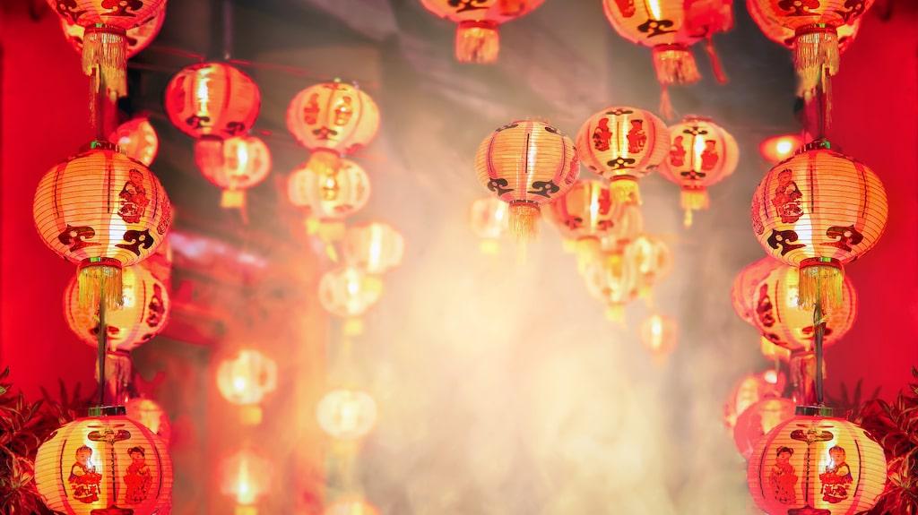 Det kinesiska nyåret infaller 5 februari.
