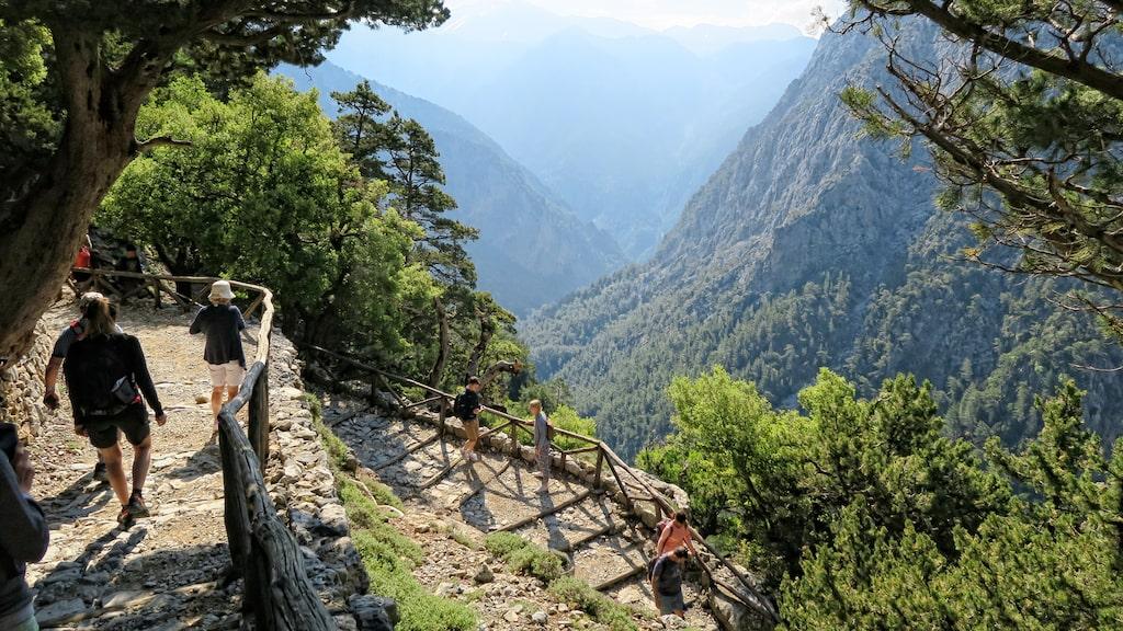 Samariaravinen är Europas djupaste dal.