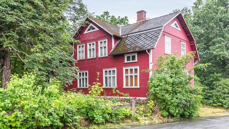 Huset är 700 kvadratmeter.