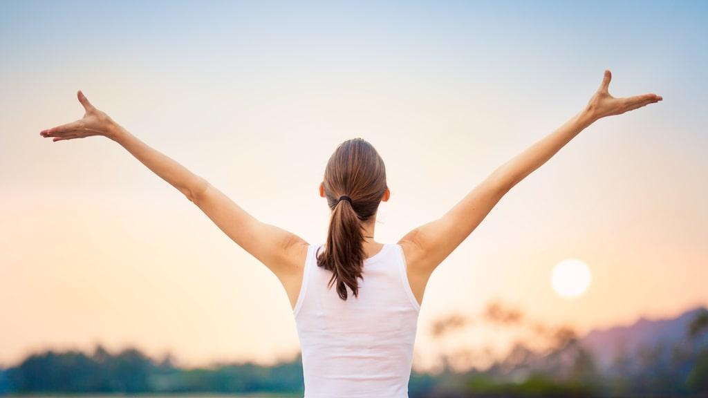 Att vara optimist är positivt för hälsan.