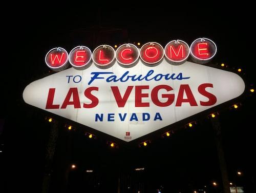 Den här klassiska skylten har markerat Las Vegas stadsgräns sedan 1959 och är ett självklart stäle att ta en selfie på.