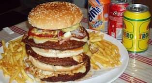sveriges största hamburgare