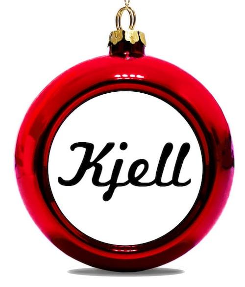 """""""Julgranskula Röd Kjell"""" 199 kronor."""