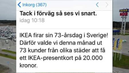 IKEA FÅ PRESENTKORT