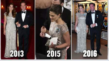 f0c9dba3f296 Madeleines klänning har varit med flera gånger tidigare