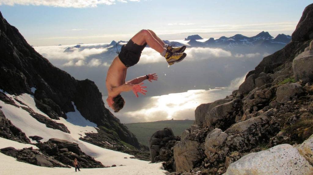 Norge klättrar på listan över världens mest äventyrliga länder. Nu ligger landet på fjärde plats. Bilden är från Lofoten.
