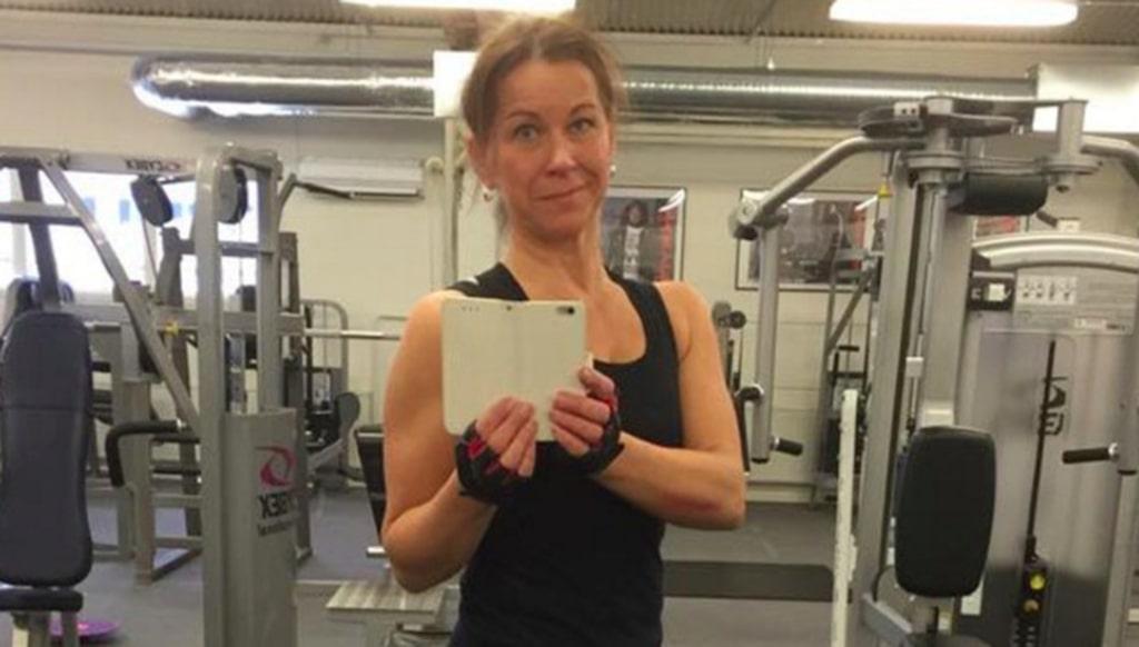 <p>Trebarnsmamman Merja Svan, 47, skippade kött och började träna. Då blev hon frisk från sin sjukdom.</p>