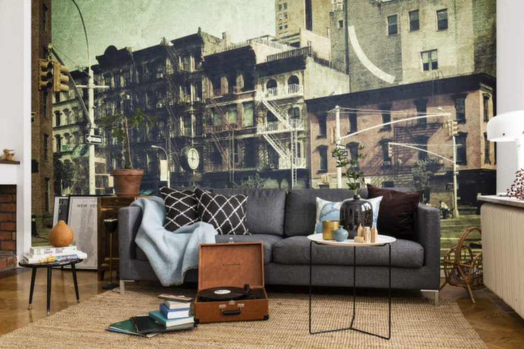 Ett vardagsrum på 6th Avenue i New York, kanske?