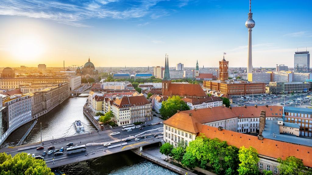 Liksom i Berlin.