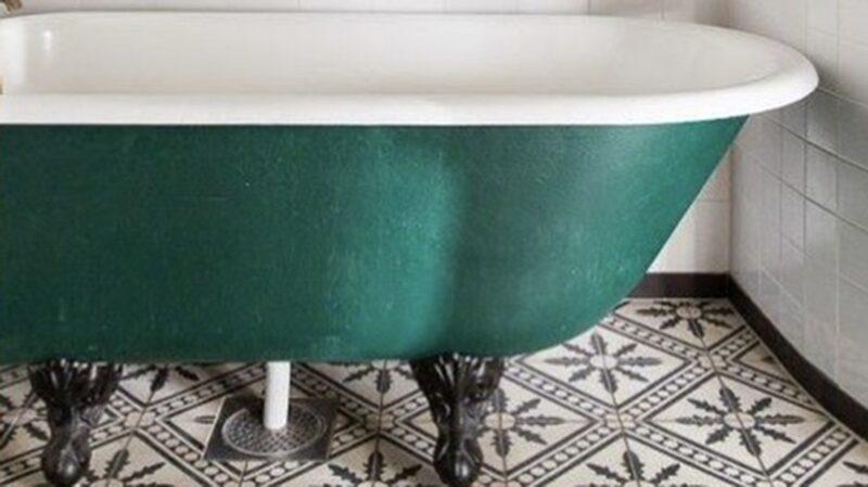 Varför inte ett grönt badkar?