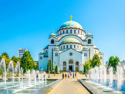 Sankt Savas tempel är ett känt landmärke i Serbiens huvudstad, Belgrad.