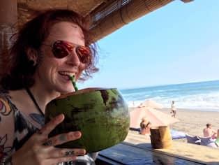 385f57dba0c Kajsa Franzén åkte till Bali – och blev kvar. Foto: Privat