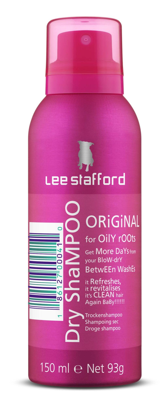 """<strong>Lee Stafford, Dry Shampoo Original, 150 ml, 79 kronor.</strong><br><exp:icon type=""""wasp""""></exp:icon><exp:icon type=""""wasp""""></exp:icon><exp:icon type=""""wasp""""></exp:icon><br>Torrschampo formulerat för att öka livslängden på redan stylat hår, lovar att ta bort fett från hårbotten. <br>Ett torrschampo som gör sitt jobb, perfekt att använda mellan tvättarna. Minus för den starka doften."""