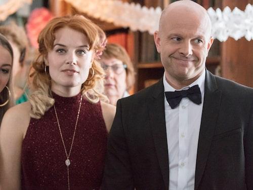 """I succéserien """"Bonusfamiljen"""" spelar Fredrik karaktären Martin."""