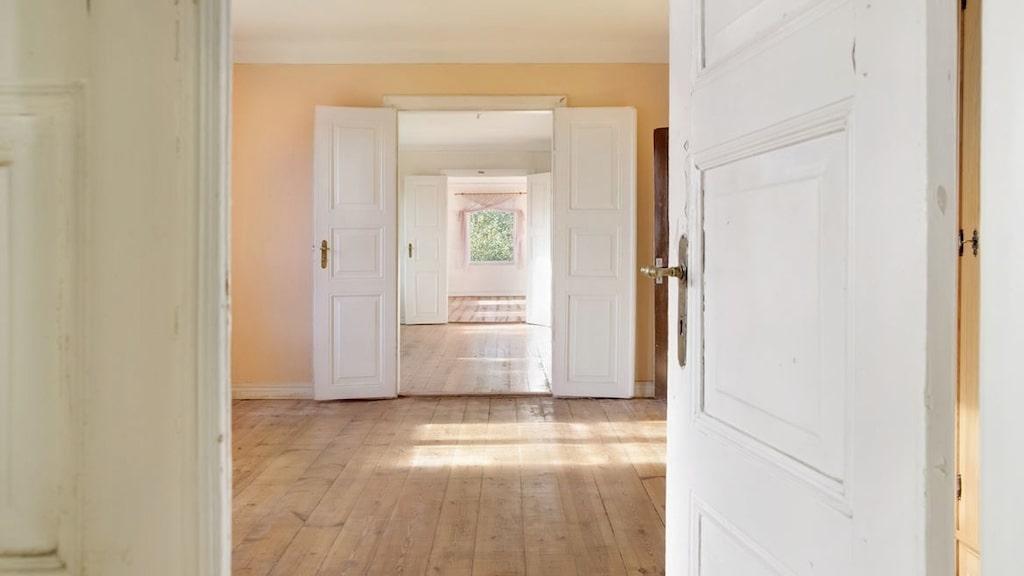 Tre rum i fil.