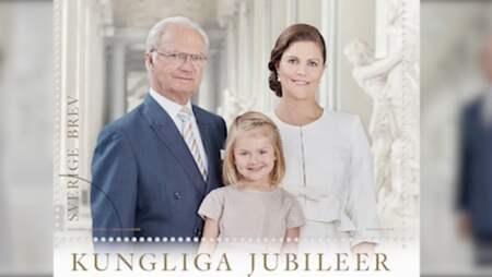 b9904caacec6 Estelle och kungafamiljen tar plats på svenska frimärken