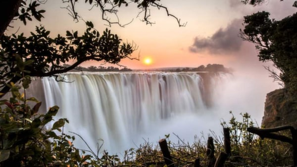 Victoriafallen, Zimbabwe.