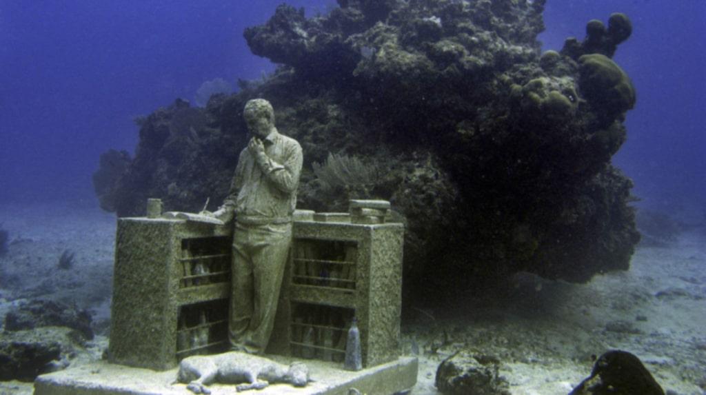 Kuststråket utanför Cancun är välbesökt och har nästan 800 000 besökare varje år.