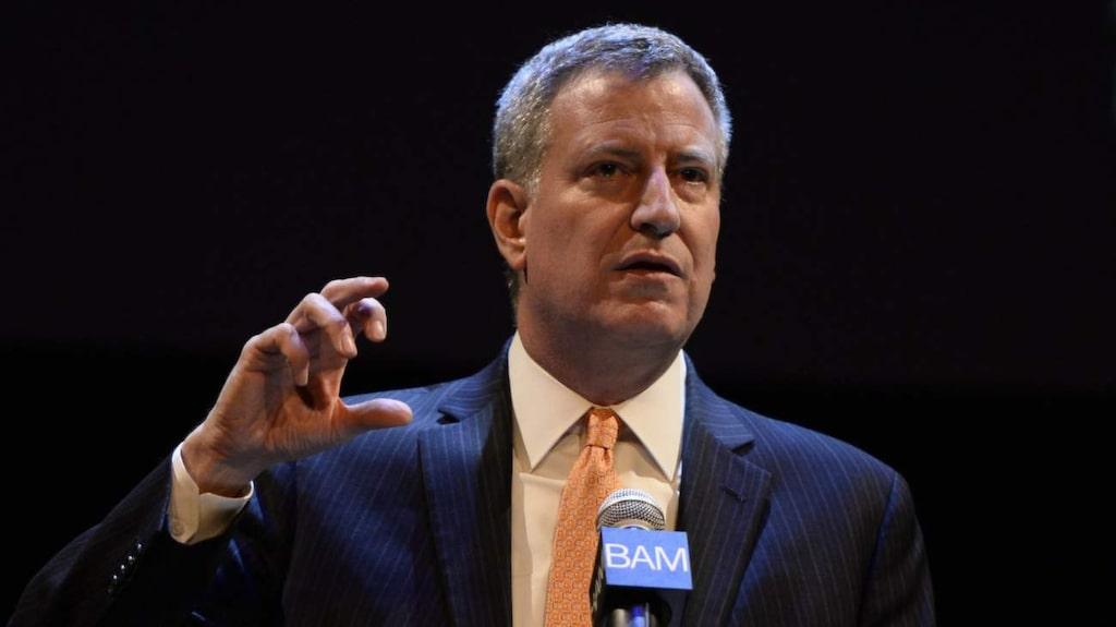 <p>New Yorks borgmästare Bill de Blasio vill minska för tidig död med 25 procent till år 2040.</p>