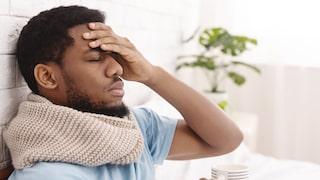 feberkänsla men ingen feber