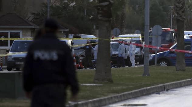 Trafikljus exploderade efter gaslacka