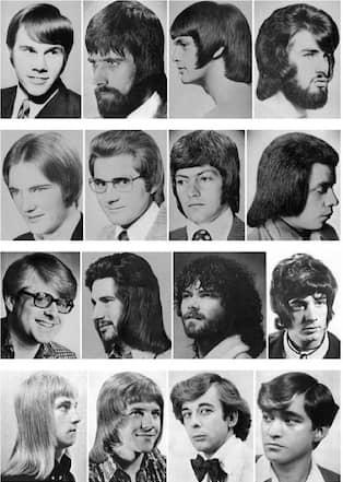 70 tals frisyrer tjejer