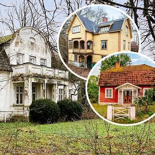 Övergivna hus skåne till salu