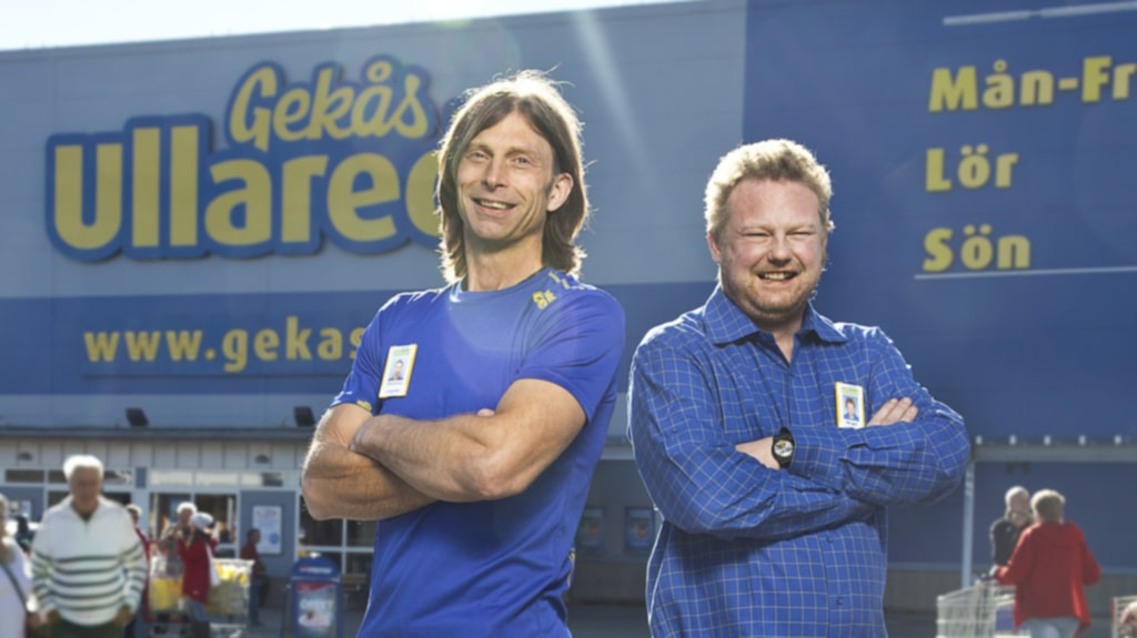 Gekås i Ullared är nära att komma ikapp Ikea när det gäller vilket varumärke som är starkast i Sverige.