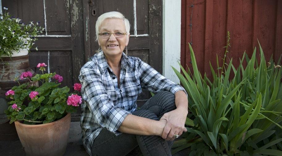 VILL HJÄLPA TILL. Marion Fondelius pappa drabbades av alzheimer. Nu är hon ordförande i Alzheimerföreningen i Östergötland.