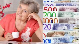 Pensionarer far inte fullt bidrag