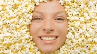 luft poppade popcorn