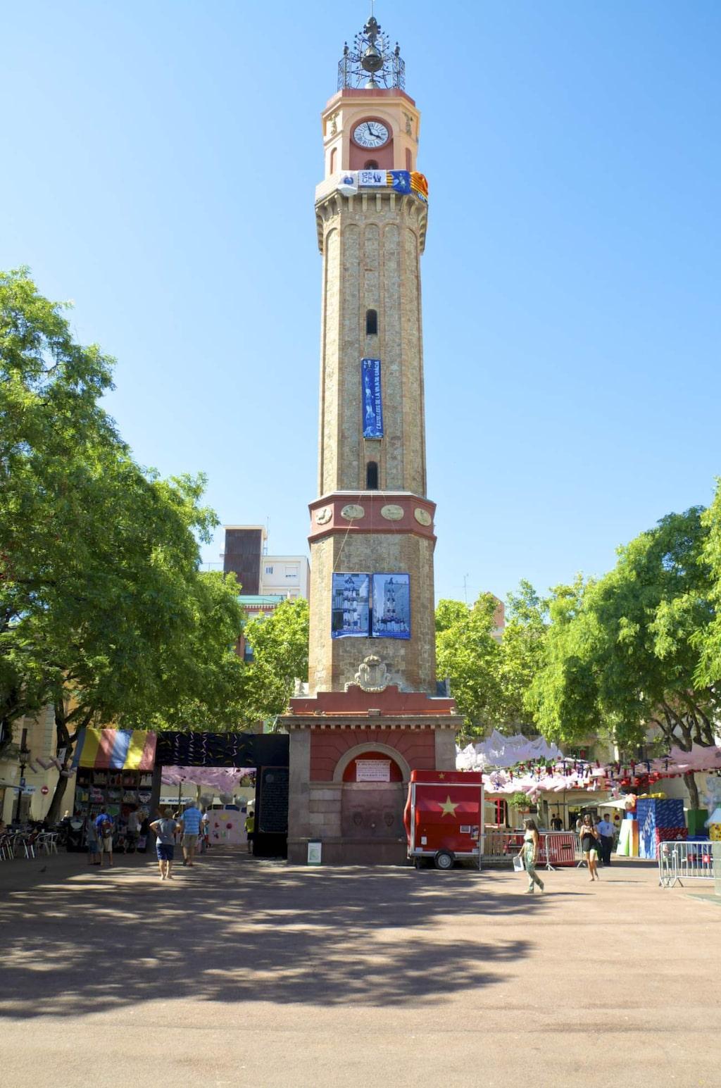 Området Garcia har många trevliga butiker och charmiga torg.
